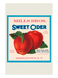 Mills Bros Sweet Cider