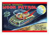 Battery Operated Moon Patrol Xt-978