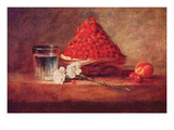 Still Life of a Strawberry Basket