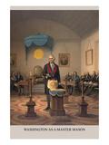 Symbols - Washington as a Free Mason