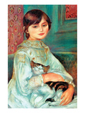 Jilie Manet with Cat