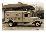 "Kingan's ""Reliable"" Pork-Beef Dairy Products Delivery Truck"