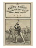 Tobacco Label First Nines Segars