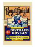 Royal Knight Distilled Dry Gin