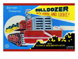 Battery Operated Bulldozer with Horn and Light