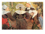 The Dance of 4 Women of Breton
