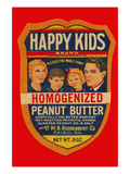 Happy Kids Homogenized Peanut Butter