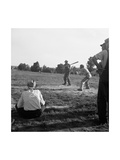 Farmer&#39;s Baseball Game
