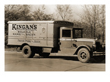 "Kingan's ""Reliable"" Hams and Bacon  Fresh Pork and Beef Delivery Truck"
