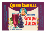 Queen Isabella Concord Grape Juice