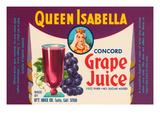 Queen Isabella Concord Grape Juice