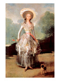 Portrait of Marquesa De Pontejos Y Sandoval  Herzogin Von Pontejos