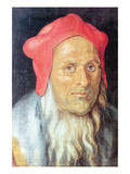 Portrait of a Bearded Man with Red Cap
