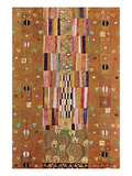 Frieze Reproduction d'art par Gustav Klimt