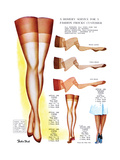 A Hosiery Service for Fashion Frocks' Customer