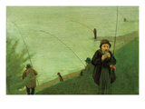 Anglers on the Rhine