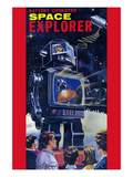 Space Explorer Robot