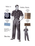 Relax in Hobby Slacks
