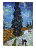 Van Gogh - Country Road in Provence by Night