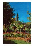 Garden in Bloom at Saint-Adresse