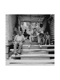 Negro Family Sharecroppers on Porch