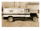 Kuhner Packing Company  Muncie  Indiana Delivery Truck of Keener Meats