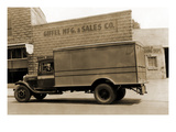 Giffel Manufacturing and Sales Company Delivery Truck