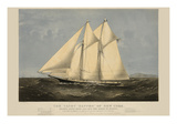 The Yacht &quot;Sappho&quot; of New York