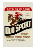 Old Sport Kentucky Straight Bourbon Whiskey