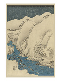 Mountains and Rivers on the Kiso Road (Kisoji No Sansen) No1