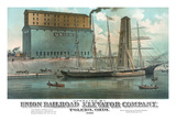 Operated by Union Railroad Elevator Company