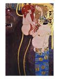 The Beethoven Frieze Reproduction d'art par Gustav Klimt