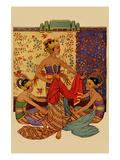 Javanese Girls Examne Fabric