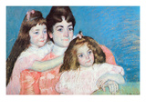 Madame AF Aude with Her Two Daughters