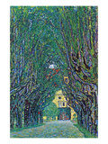 Way to the Park Reproduction d'art par Gustav Klimt
