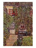 The House of Guard Reproduction d'art par Gustav Klimt