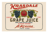 Kransdale Brand Grape Juice