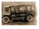 Harry H Redfearn and Co Delivery Truck - Good Luck Evaporated Milk and Cheese