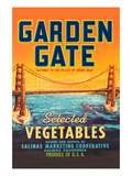 Garden Gate Selected Vegetables