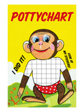 Monkey Potty Chart