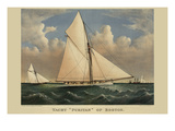 Yacht &quot;Puritan&quot; of Boston