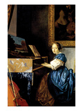 Dame on Spinet