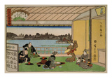 Drinking Party at Restaurant Kawachiro (Kawachiro / Hiroshige-Ga)