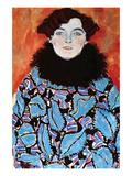 Johanna Staude Reproduction d'art par Gustav Klimt