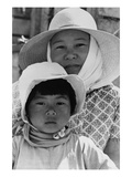 Japanese Mother and Daughter  Agricultural Workers