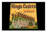 King's Cadets California Green Asparagus