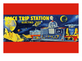Space Trip Station Electro Toy