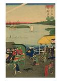 Famous Places in Tokyo: Real View of Takanawa (Tokyo Meisho Takanawa No Shinkei) No3