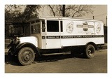 Hughes-Curry Packing Company  Crest-Purity-Brand Delivery Truck