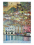 Malcena at the Gardasee Reproduction d'art par Gustav Klimt